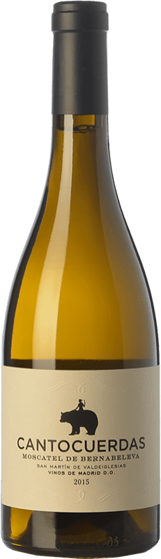 15,95 € | White wine Bernabeleva Cantocuerdas Dry D.O. Vinos de Madrid Madrid's community Spain Muscatel Bottle 75 cl
