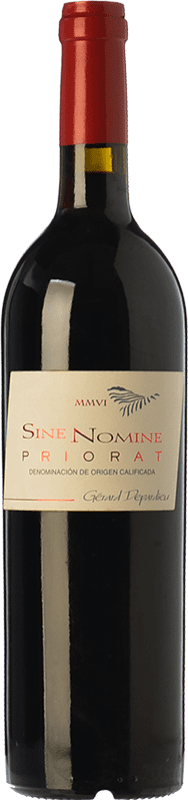 27,95 € | Red wine Bernard Magrez Sine Nomine Crianza D.O.Ca. Priorat Catalonia Spain Merlot, Syrah, Grenache, Cabernet Sauvignon, Carignan Bottle 75 cl