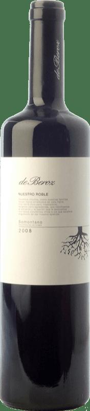 8,95 € 免费送货   红酒 Beroz Nuestro Roble D.O. Somontano 阿拉贡 西班牙 Tempranillo, Merlot, Cabernet Sauvignon, Moristel 瓶子 75 cl