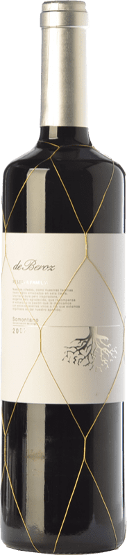 12,95 € Free Shipping | Red wine Beroz Reserva de Familia Reserva D.O. Somontano Aragon Spain Tempranillo, Merlot, Syrah, Cabernet Sauvignon Bottle 75 cl