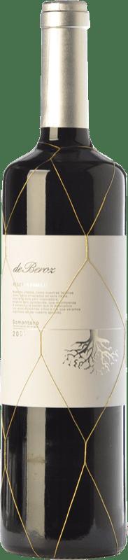 12,95 € Envoi gratuit | Vin rouge Beroz Reserva de Familia Reserva D.O. Somontano Aragon Espagne Tempranillo, Merlot, Syrah, Cabernet Sauvignon Bouteille 75 cl
