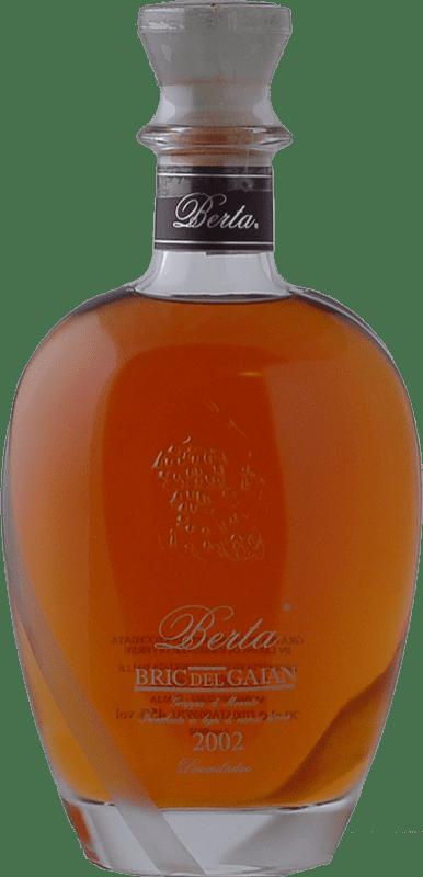 144,95 € Envío gratis | Grappa Berta Bric del Gaian I.G.T. Grappa Piemontese Piemonte Italia Botella 70 cl