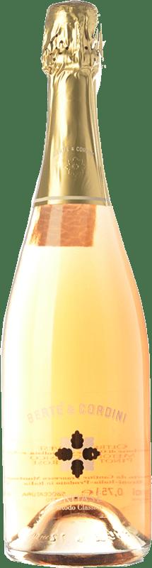 19,95 € Free Shipping | White sparkling Bertè & Cordini Cruasé D.O.C.G. Oltrepò Pavese Metodo Classico Lombardia Italy Pinot Black Bottle 75 cl