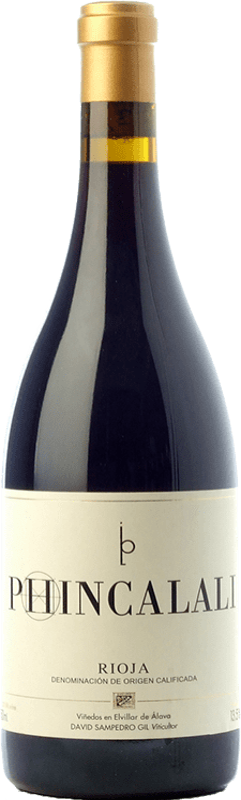 53,95 € Free Shipping | Red wine Bhilar Phinca Lali D.O.Ca. Rioja The Rioja Spain Tempranillo, Grenache, Graciano, Viura Bottle 75 cl