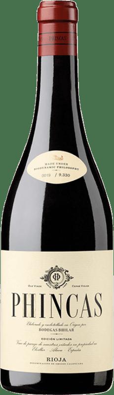 26,95 € Free Shipping | Red wine Bhilar Phincas Crianza D.O.Ca. Rioja The Rioja Spain Tempranillo, Grenache, Graciano, Viura Bottle 75 cl