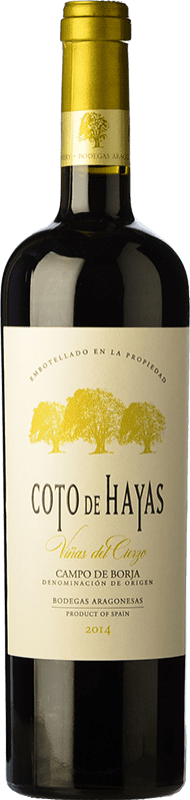 9,95 € Envoi gratuit | Vin rouge Bodegas Aragonesas Coto de Hayas Reserva D.O. Campo de Borja Aragon Espagne Tempranillo, Grenache Bouteille 75 cl