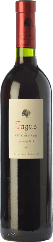 19,95 € 免费送货   红酒 Bodegas Aragonesas Fagus de Coto de Hayas Selección Especial Crianza D.O. Campo de Borja 阿拉贡 西班牙 Grenache 瓶子 75 cl