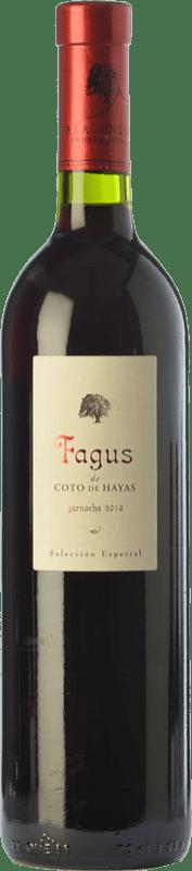19,95 € | Red wine Bodegas Aragonesas Fagus de Coto de Hayas Selección Especial Crianza D.O. Campo de Borja Aragon Spain Grenache Bottle 75 cl