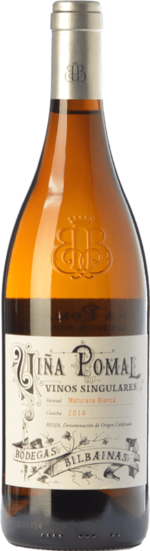 33,95 € | White wine Bodegas Bilbaínas Viña Pomal Crianza D.O.Ca. Rioja The Rioja Spain Maturana White Bottle 75 cl