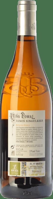 27,95 € Free Shipping | White wine Bodegas Bilbaínas Viña Pomal Crianza D.O.Ca. Rioja The Rioja Spain Maturana White Bottle 75 cl