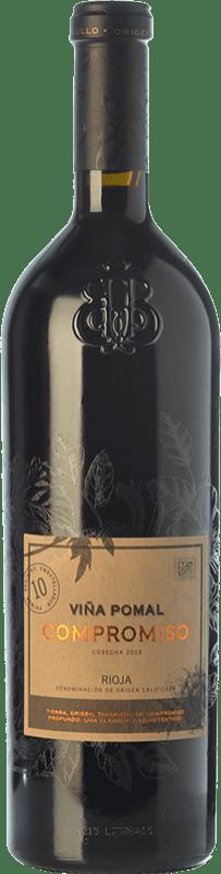 29,95 € Free Shipping | Red wine Bodegas Bilbaínas Viña Pomal Compromiso Joven D.O.Ca. Rioja The Rioja Spain Tempranillo, Grenache, Graciano, Mazuelo, Maturana Tinta Bottle 75 cl