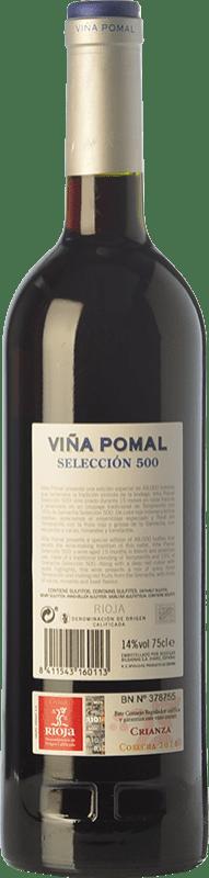 10,95 € Free Shipping   Red wine Bodegas Bilbaínas Viña Pomal Selección 500 Crianza D.O.Ca. Rioja The Rioja Spain Tempranillo, Grenache Bottle 75 cl
