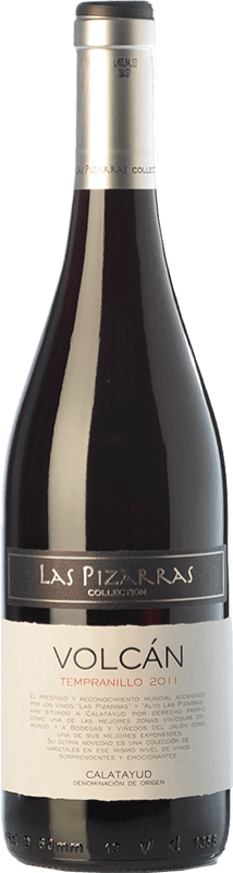 7,95 € 免费送货 | 红酒 Bodegas del Jalón Volcán Joven D.O. Calatayud 阿拉贡 西班牙 Tempranillo 瓶子 75 cl