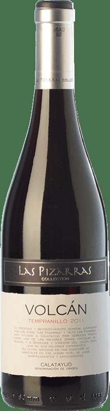 7,95 € Envío gratis | Vino tinto Bodegas del Jalón Volcán Joven D.O. Calatayud Aragón España Tempranillo Botella 75 cl