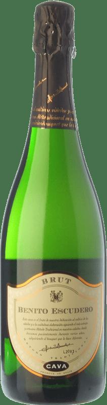 7,95 € | White sparkling Bodegas Escudero Brut Reserva D.O. Cava Catalonia Spain Viura Bottle 75 cl