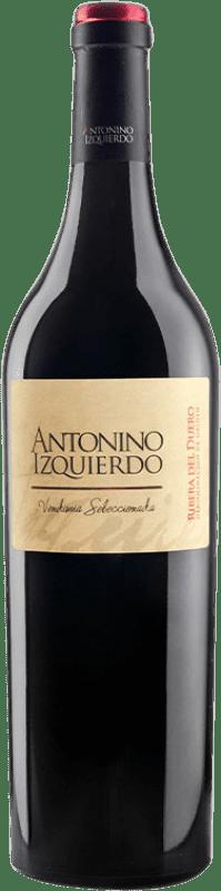 41,95 € | Red wine Bodegas Izquierdo Antonino Izquierdo Vendimia Seleccionada Joven 2009 D.O. Ribera del Duero Castilla y León Spain Tempranillo, Cabernet Sauvignon Bottle 75 cl