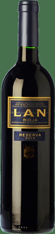 14,95 € Envío gratis | Vino tinto Lan Reserva D.O.Ca. Rioja La Rioja España Tempranillo, Graciano, Mazuelo Botella 75 cl