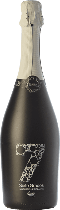 8,95 € | White sparkling Luzón Frizzante Siete Grados Spain Muscat of Alexandria Bottle 75 cl