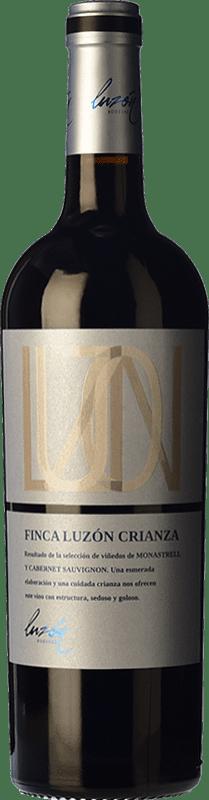 11,95 € 免费送货 | 红酒 Luzón Selección 12 Meses Crianza D.O. Jumilla 卡斯蒂利亚 - 拉曼恰 西班牙 Tempranillo, Merlot, Cabernet Sauvignon, Monastrell 瓶子 75 cl