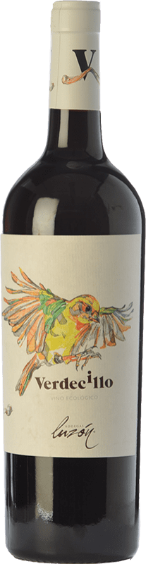 5,95 € Envío gratis | Vino tinto Luzón Verdecillo Joven D.O. Jumilla Castilla la Mancha España Monastrell Botella 75 cl