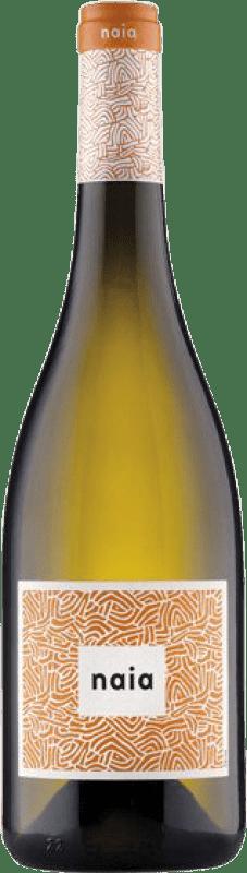 8,95 € 免费送货 | 白酒 Naia D.O. Rueda 卡斯蒂利亚莱昂 西班牙 Verdejo 瓶子 75 cl