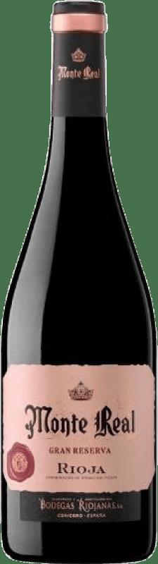 11,95 € Envoi gratuit | Vin rouge Bodegas Riojanas Monte Real Gran Reserva D.O.Ca. Rioja La Rioja Espagne Tempranillo, Graciano, Mazuelo Bouteille 75 cl