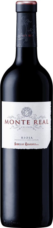 8,95 € | Red wine Bodegas Riojanas Monte Real Crianza D.O.Ca. Rioja The Rioja Spain Tempranillo Bottle 75 cl