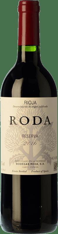 28,95 € 免费送货 | 红酒 Bodegas Roda Reserva D.O.Ca. Rioja 拉里奥哈 西班牙 Tempranillo, Graciano 瓶子 75 cl