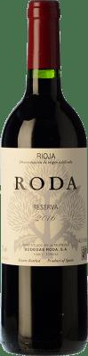 19,95 € Envío gratis | Vino tinto Bodegas Roda Reserva D.O.Ca. Rioja La Rioja España Tempranillo, Garnacha, Graciano Media Botella 50 cl