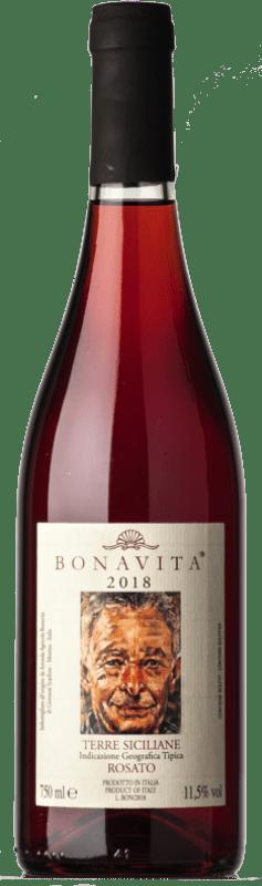 24,95 € | Rosé wine Bonavita Rosato I.G.T. Terre Siciliane Sicily Italy Nerello Mascalese, Nerello Cappuccio, Nocera Bottle 75 cl