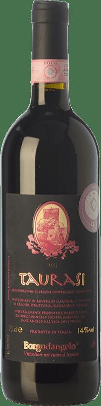 18,95 € 免费送货 | 红酒 Borgodangelo D.O.C.G. Taurasi 坎帕尼亚 意大利 Aglianico 瓶子 75 cl
