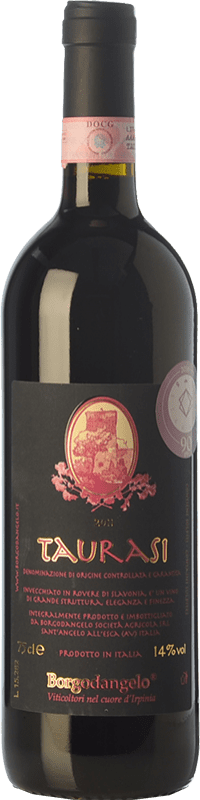 18,95 € Free Shipping | Red wine Borgodangelo D.O.C.G. Taurasi Campania Italy Aglianico Bottle 75 cl
