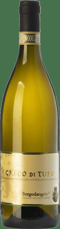9,95 € 免费送货 | 白酒 Borgodangelo D.O.C.G. Greco di Tufo 坎帕尼亚 意大利 Greco di Tufo 瓶子 75 cl