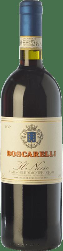 108,95 € Free Shipping | Red wine Boscarelli Il Nocio D.O.C.G. Vino Nobile di Montepulciano Tuscany Italy Sangiovese Bottle 75 cl