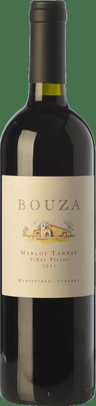 19,95 € Free Shipping | Red wine Bouza Tannat Viñas Viejas Joven Uruguay Merlot, Tannat Bottle 75 cl