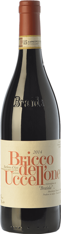 63,95 € Free Shipping | Red wine Braida Bricco dell'Uccellone D.O.C. Barbera d'Asti Piemonte Italy Barbera Bottle 75 cl