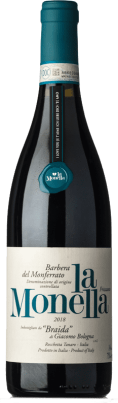 11,95 € | Red wine Braida La Monella D.O.C. Barbera del Monferrato Piemonte Italy Barbera Bottle 75 cl