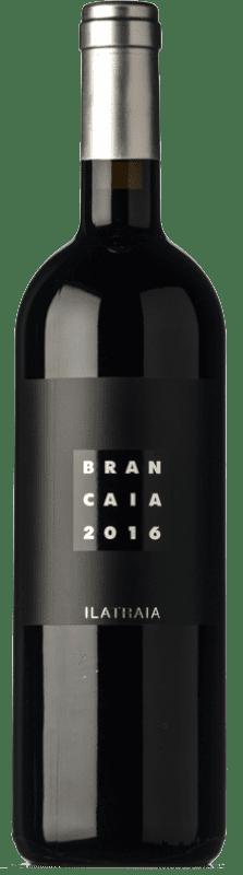 53,95 € 免费送货 | 红酒 Brancaia Ilatraia I.G.T. Toscana 托斯卡纳 意大利 Cabernet Sauvignon, Cabernet Franc, Petit Verdot 瓶子 75 cl