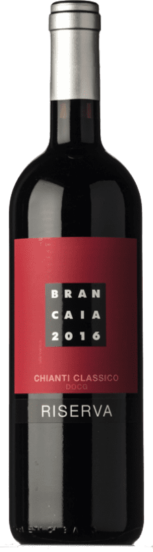 31,95 € Free Shipping | Red wine Brancaia Riserva Reserva D.O.C.G. Chianti Classico Tuscany Italy Merlot, Sangiovese Bottle 75 cl