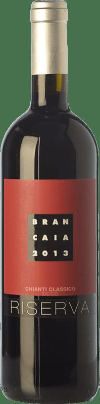 59,95 € 免费送货 | 红酒 Brancaia Riserva Reserva D.O.C.G. Chianti Classico 托斯卡纳 意大利 Merlot, Sangiovese 瓶子 Magnum 1,5 L