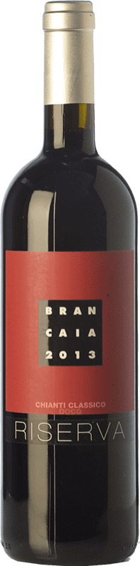 59,95 € Envío gratis | Vino tinto Brancaia Riserva Reserva D.O.C.G. Chianti Classico Toscana Italia Merlot, Sangiovese Botella Mágnum 1,5 L