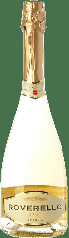 7,95 € | White sparkling Broglia Roverello Brut D.O.C.G. Cortese di Gavi Piemonte Italy Cortese Bottle 75 cl