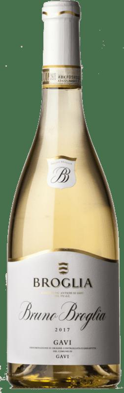 42,95 € | White wine Broglia Bruno D.O.C.G. Cortese di Gavi Piemonte Italy Cortese Bottle 75 cl