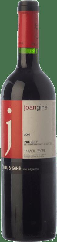23,95 € Free Shipping | Red wine Buil & Giné Joan Giné Crianza D.O.Ca. Priorat Catalonia Spain Grenache, Cabernet Sauvignon, Carignan Bottle 75 cl