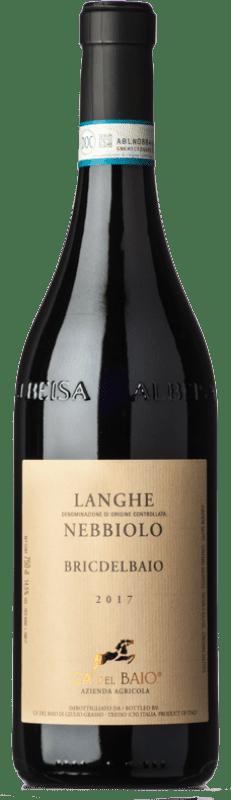 16,95 € Free Shipping   Red wine Cà del Baio Langhe Bric del Baio Crianza D.O.C. Piedmont Piemonte Italy Nebbiolo Bottle 75 cl