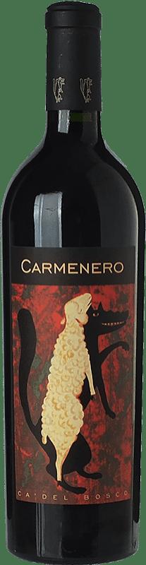 37,95 € Free Shipping | Red wine Ca' del Bosco Carmenero I.G.T. Lombardia Lombardia Italy Carmenère Bottle 75 cl