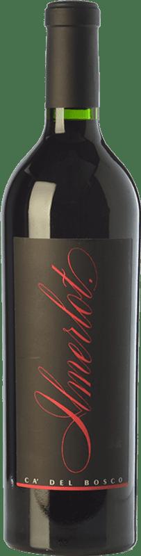 74,95 € Free Shipping | Red wine Ca' del Bosco Il 2009 I.G.T. Sebino Lombardia Italy Merlot Bottle 75 cl