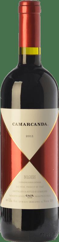 144,95 € | Red wine Ca' Marcanda Camarcanda D.O.C. Bolgheri Tuscany Italy Merlot, Cabernet Sauvignon, Cabernet Franc Bottle 75 cl