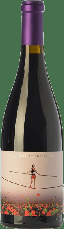 18,95 € 免费送货   红酒 Ca N'Estruc L'Equilibrista Crianza D.O. Catalunya 加泰罗尼亚 西班牙 Syrah, Grenache, Carignan 瓶子 75 cl