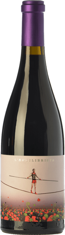 18,95 € Free Shipping | Red wine Ca N'Estruc L'Equilibrista Crianza D.O. Catalunya Catalonia Spain Syrah, Grenache, Carignan Bottle 75 cl